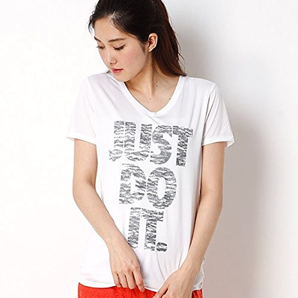 [해외] 나이키(nike 나이키) 【NIKE/나이키】레이디스T셔츠(나이키 women's JDI프린트 V넥 T셔츠)