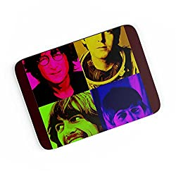 PosterGuy A4 Mouse Pad - Beatles pop art | Designed by: CW Doodler