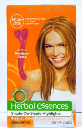 Clairol Herbal Essences Shade-on-shade Highlights HL2e Beach Comber, Golden Blonde (Pack of 2)