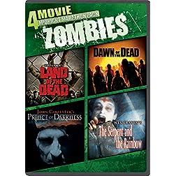4-Movie Midnight Marathon Pack: Zombies