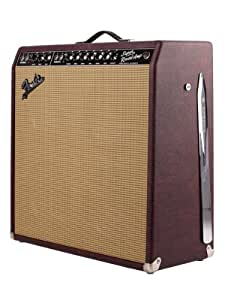 Fender FSR '65 Super Reverb 45-Watt 4x10-Inch Tube Combo Amplifier 120V - Burgundy Wheat