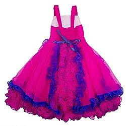 Yashasvi Girl's Beauteous Cotton Dress