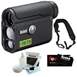 Bushnell 202342 Laser Rangerfinder The Truth w/ Arc + Cleaning Cloth + Cleaning and Care Kit + Wide Strap