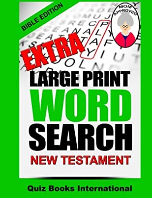 Extra Large Print Word Search Bible Edition - New Testament