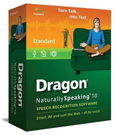 Dragon NaturallySpeaking 10 Standard (English)