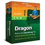 Dragon NaturallySpeaking 10 Standard [OLD VERSION] ~ Nuance Communications,...