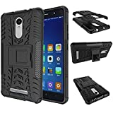 DWay Case Xiaomi Redmi Note 3 Hybrid Armor Design with Stand Feature Detachable Dual Layer Protective Shell Hard...