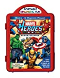 Marvel Hereoes Super Origins Books & Magnetic Playset (0794419399) by Marvel