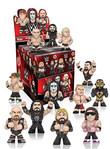 Funko Mystery Mini: WWE Series 2 Toy Action Figures (2 random mystery mini packs)