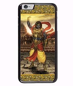 PrintVisa Lord Krishna Designer Back Case Cover for Apple iphone 6 Plus (5.5 inches) -D4739