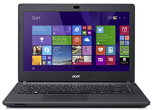 Acer Aspire E 14 ES1-411-C0LT 14-tommers bærbar PC (Diamond Black)