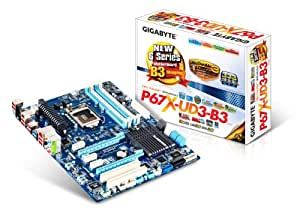 GIGABYTE GA-P67X-UD3-B3 LGA 1155 Intel P67 SATA 6Gb/s USB 3.0 ATX Intel Motherboard