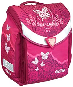 Herlitz 11280021 - Schulranzen Flexi Plus, Rose Butterfly