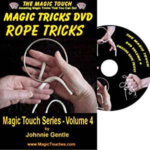 MAGIC TRICKS DVD - An Amazing Magic Tricks DVD Collection of Classic Rope Tricks and Stunning Magic Tricks with Rings and Strings, All Fully Demonstrated and Explained in Easy to Follow, Step-by-Step Videos. A Must for Both Experienced Magician and Magica