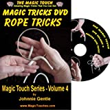 MAGIC TRICKS DVD - An Amazing Magic Tricks DVD Collection of Classic Rope Tricks and Stunning Magic Tricks with Rings and Strings, All Fully Demonstrated and Explained in Easy to Follow, Step-by-Step Videos. A Must for Both Experienced Magician and Magic