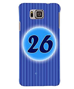 ColourCraft Numerology Number 26 Back Case Cover for SAMSUNG GALAXY ALPHA G850