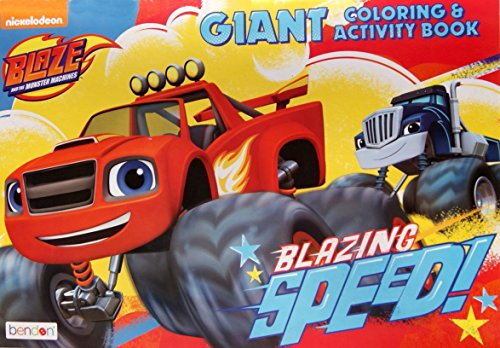 "Blaze and the Monster Machines Giant Coloring and Activity Book - 11"" x 16"" - 1"