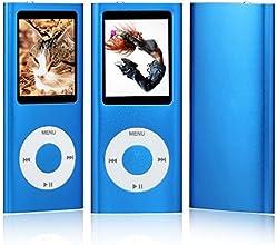 """NEUE 16GB 4. GENERATION MP3 MUSIC MEDIA PLAYER RADIO VIDEO FM 1.8 """"LCD-Bildschirm (nicht IPOD,nicht itunes unterstützen) (blau)"""