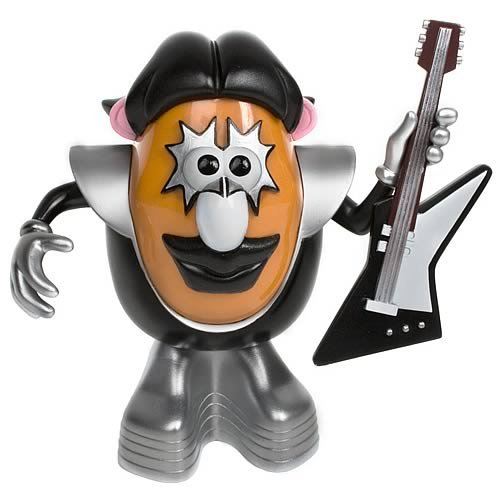 Picture of Promotional Partners Worldwide KISS Ace Frehley Mr Potato Head Figure (B002SBXZ1K) (Promotional Partners Worldwide Action Figures)