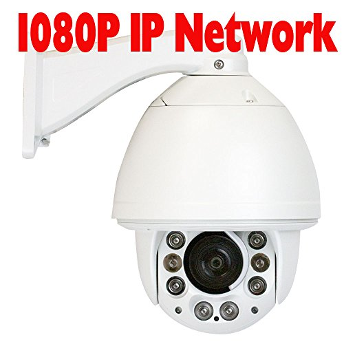 f74b4299fba GW Security 1080P (1920 1080) HD IP PoE ONVIF Auto Tracking High Speed Dome  PTZ Camera 20X Optical Zoom Waterproof Outdoor IR Night Vision for IP  Security ...
