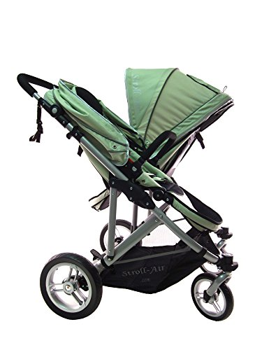 StrollAir My Duo Twin/Double Stroller, Green