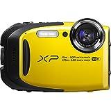 Fujifilm FinePix XP80/XP85 Waterproof Digital Camera with 2.7-Inch LCD (Yellow)-(Certified Refurbished)