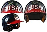 2004 Olympic Team USA Softball Batting Helmet signed by Gold Medalist Stacey Nuveman (Catcher)