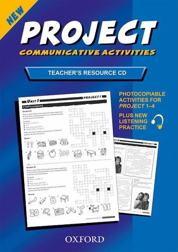 Project 1-4: Teacher's Resource Disk CD-ROM