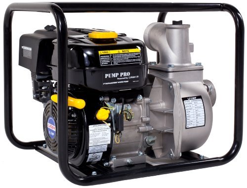 Lifan Pump Pro Lf3Wp-Ca 3-Inch Commercial Centrifugal Water Pump With 6.5 Hp 196Cc Ohv Industrial Grade Gasoline Engine (Carb Certified)