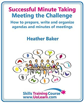 how to write successful meeting minutes