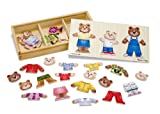 Toy - Melissa &amp; Doug Wooden Bear Family Dress-Up Puzzle