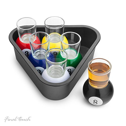 final-touch-set-of-6-pool-shots-set-von-6-pool-schnapsglaser-ideale-partei-neuheit-fta1836