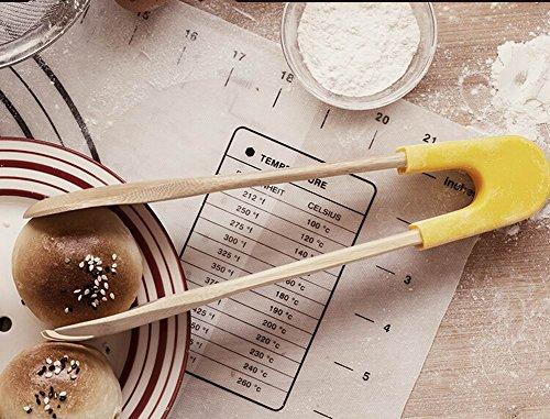 utilitaire cuisson bois pinces alimentaires clips rôti / pain / Steak pince
