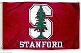 Stanford Cardinal University Large College Flag