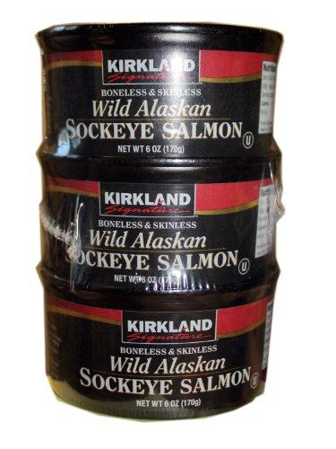 Kirkland Signature Wild Alaskan Sockeye Salmon Ketodb