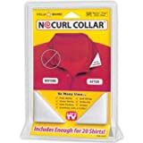 No Curl Collar Polo Shirt Collar Stays - 20 Pairs, Permanent Fix