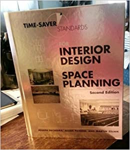 Time Saver Standards For Interior Design And Space Planning 2nd Edition Julius Panero Martin
