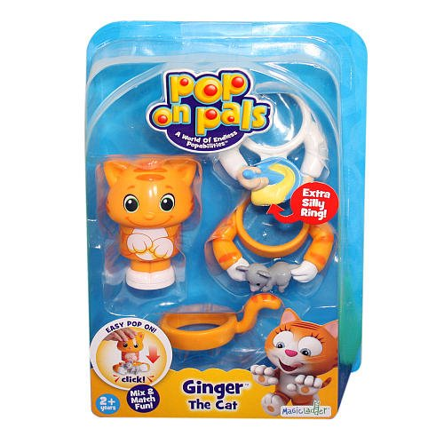 Pop On Pals - Ginger The Cat - 1