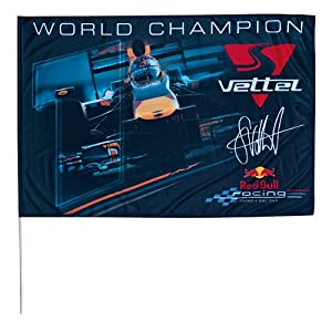 red bull racing world champion flag fahne flagge formel1. Black Bedroom Furniture Sets. Home Design Ideas