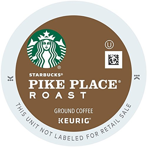Starbucks Pike Place Roast, K-Cup for Keurig Brewers, 24 Count (Keurig Pods Starbucks Coffee compare prices)