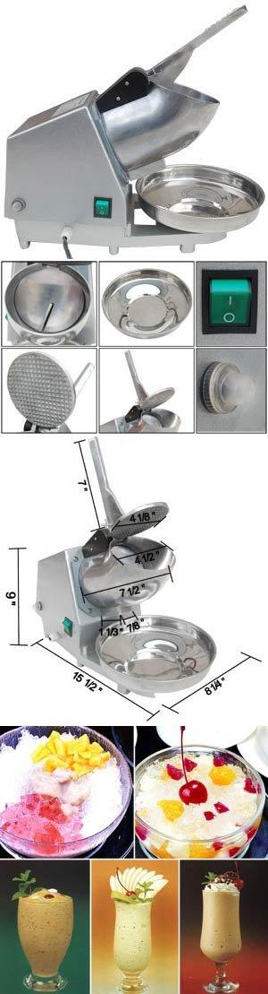 Electric Ice Shaver Snow Cone Maker