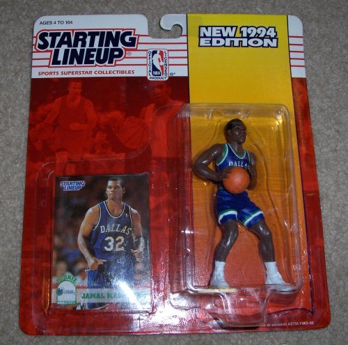 1994 Jamal Mashburn NBA Starting Lineup Figure
