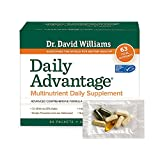 Dr. Williams' Daily Advantage Multi-Nutrient Vitamin Supplement for Boundless Energy and Total Body Wellness, 60 Packets (30-Day Supply)
