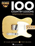 img - for 100 Country Lessons - Guitar Lesson Goldmine Series (Book/CD) book / textbook / text book