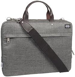 Jack Spade Slim Brief Briefcase Grey One Size