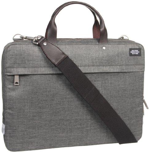 Jack Spade Slim Brief Briefcase Grey One Size (Jack Of Spades compare prices)