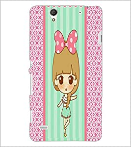 PrintDhaba cartoon D-3825 Back Case Cover for SONY XPERIA C4 (Multi-Coloured)