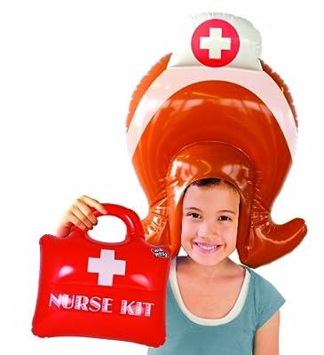Spielzeug Set Aufblasbar Krankenschwester Percke Kit Kind Spielzeug bei aufblasbar.de