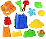 Click N Play 13 Piece Sand Castle Mol...