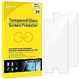 iPhone 7 フィルム, JEDirect 2パック iPhone 7 フィルム 高品質 強化ガラス スクリーン プロテクター Apple iPhone 7 4.7